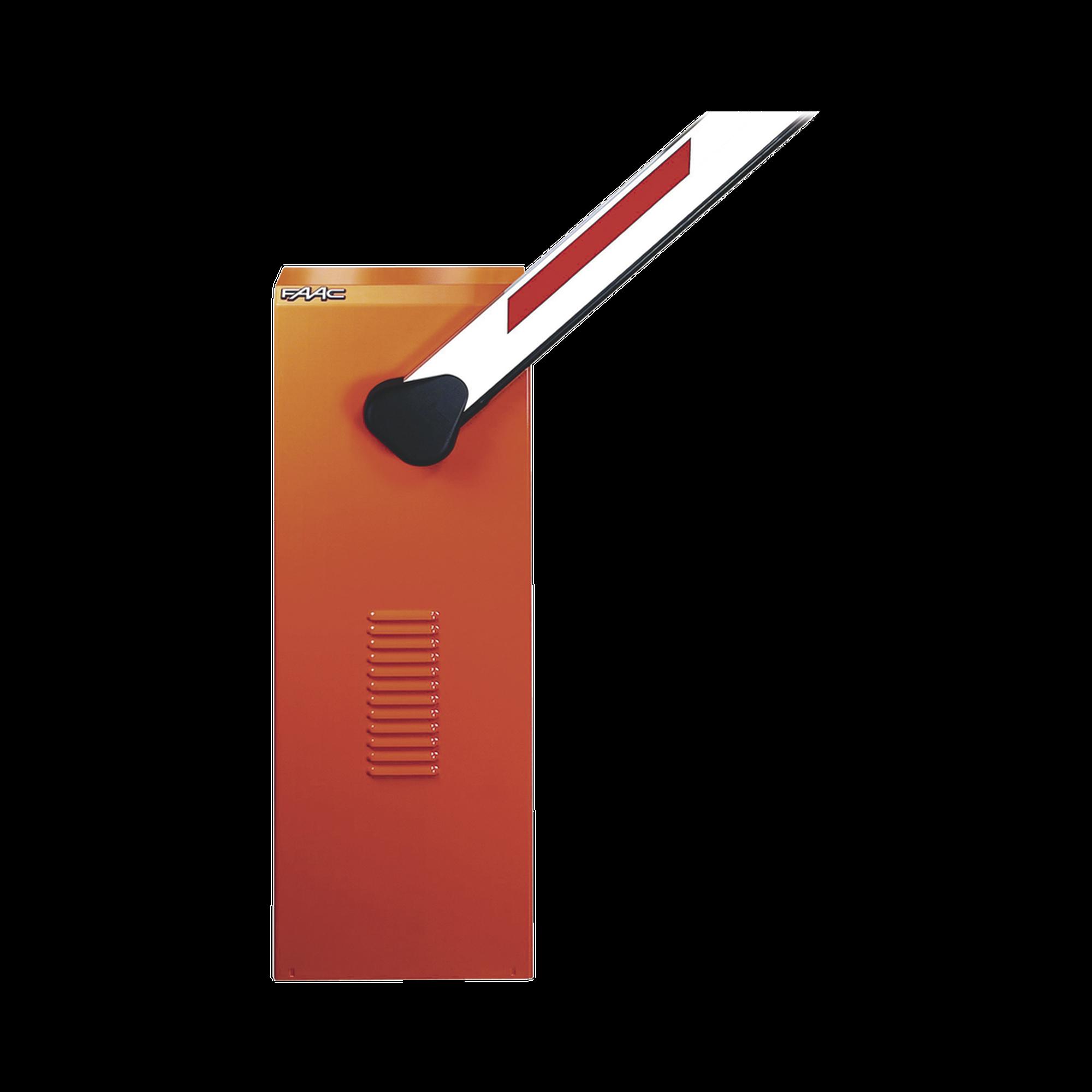 Kit de Barrera FAAC 620 RPD con Pluma Rectangular sin Iluminación / Equipo Hidráulico de Uso Intensivo / Hasta 2 Millones de Ciclos Antes de Presentar una Falla Severa