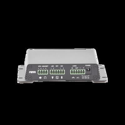 Gateway para Voceo, Paging y Video / Soporte 1 Cámara / Amplificador integrado de hasta 30 W