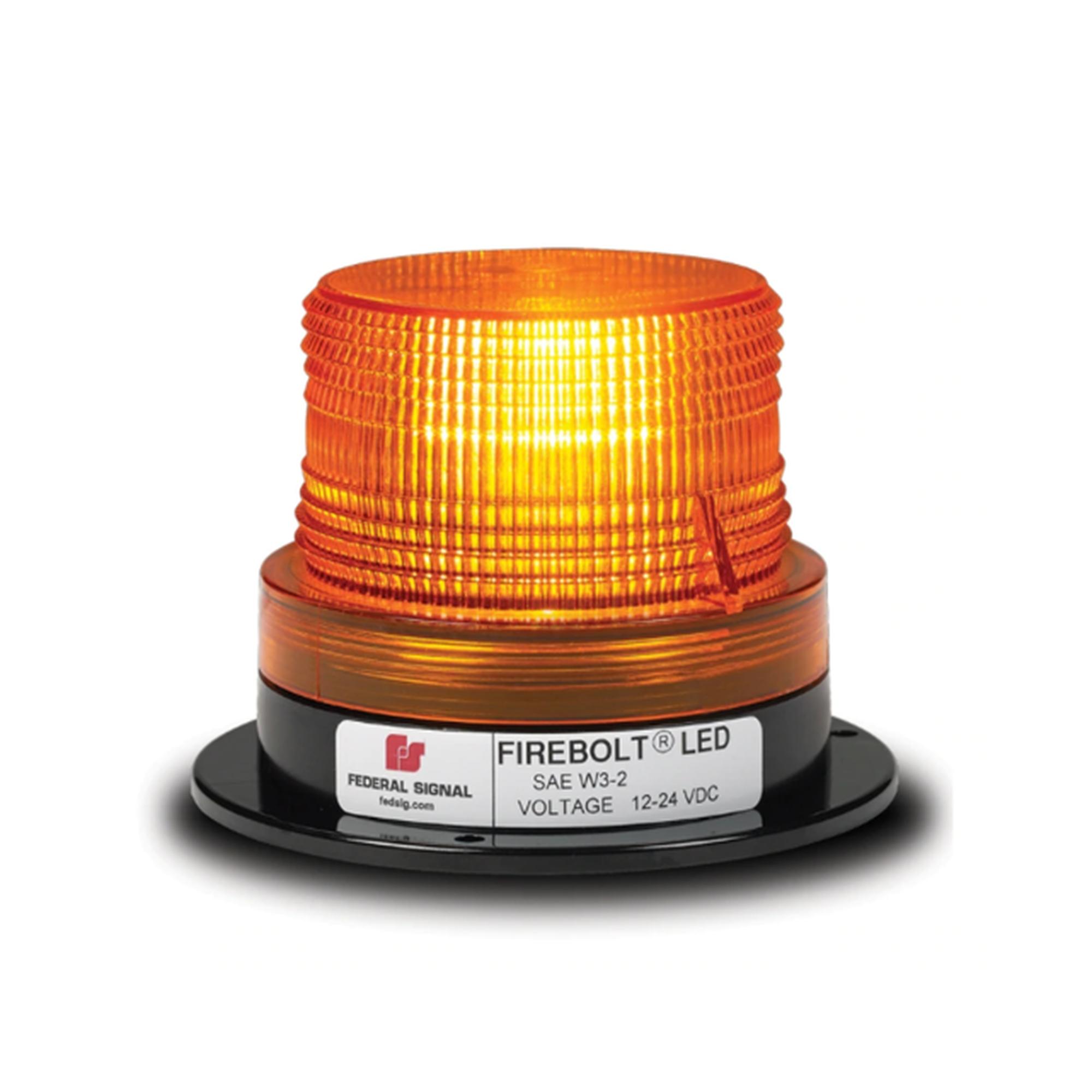 Estrobo ámbar FIREBOLT PLUS de tecnologia LED, 12-72 Vcd