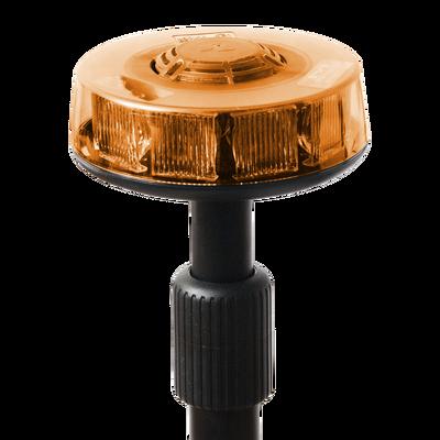 Luz telescópica trasera ámbar con mástil de 3 secciones, 15 LEDs en tecnología SOLARIS