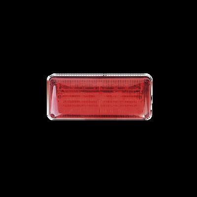 Luz de Emergencia QuadraFlare, Mica y LED Rojo, Ideal para Ambulancias