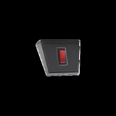 Panel frontal de 1 interruptor