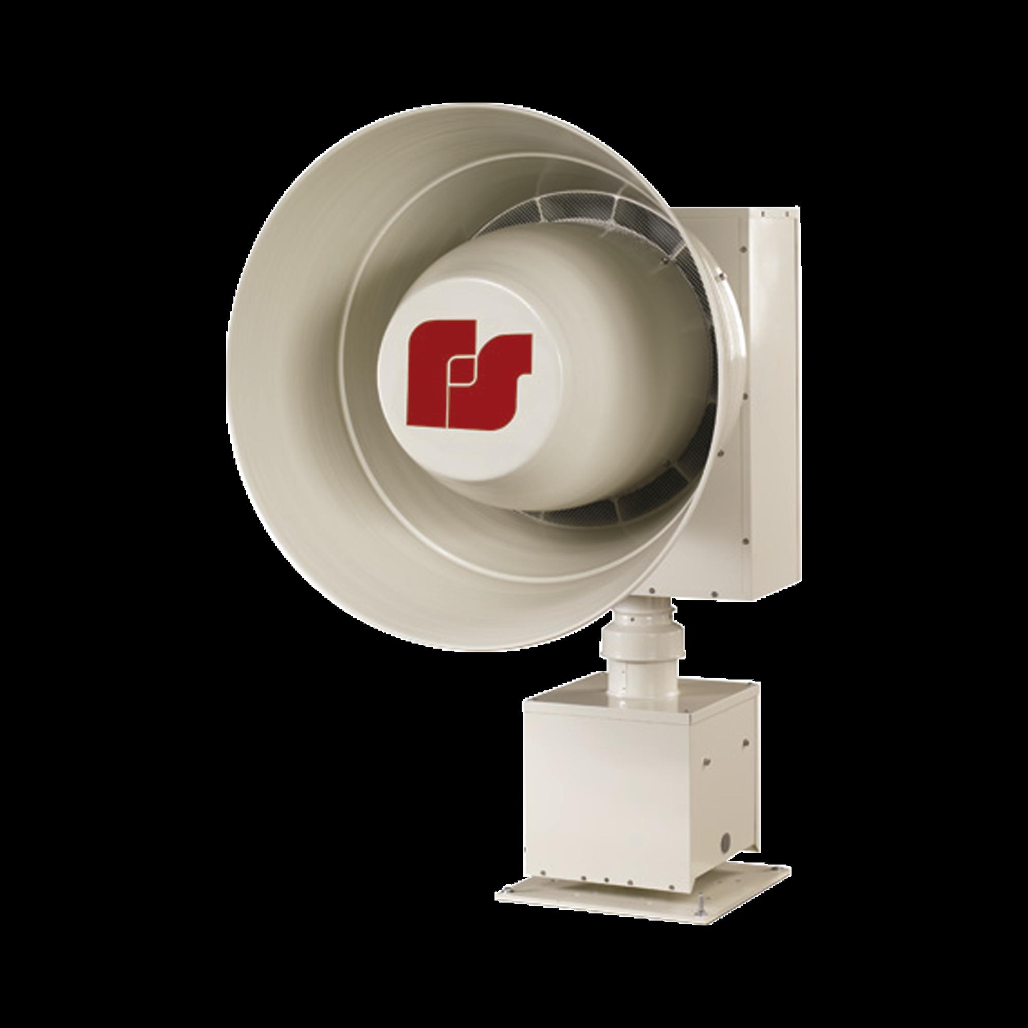 Sirena rotativa de alta potencia electromecanica, 130db, 800hz