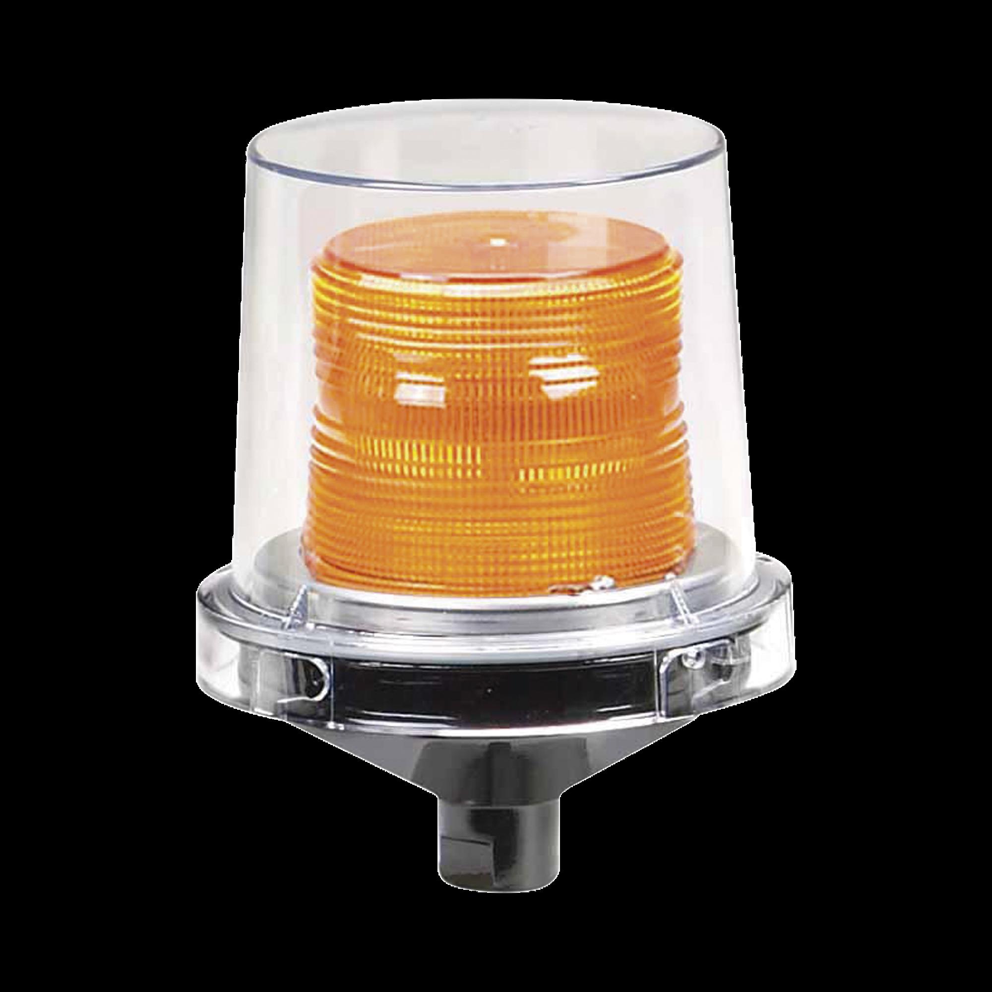 Luz LED electraray, para ubicaciones peligrosas, UL y cUL , 12-24 Vcd, ambar, parpadeo predeterminado