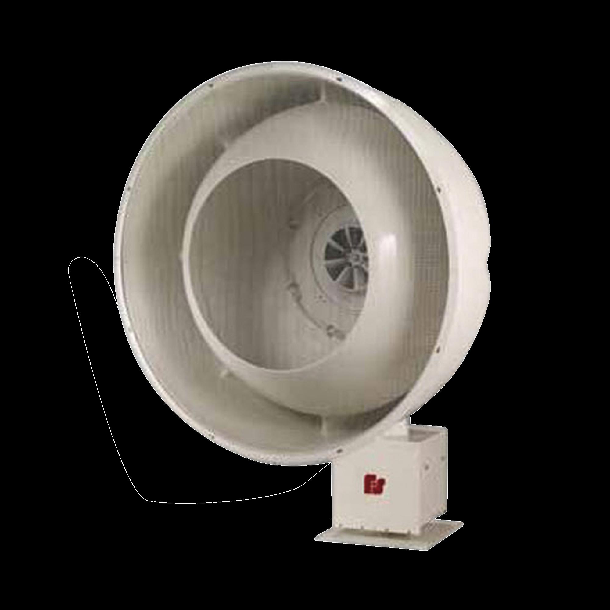 Sirena para exterior de alta potencia, 128 db(c), 500hz