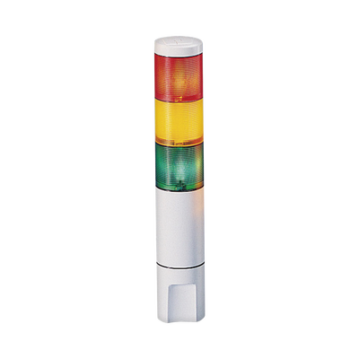 Indicador de estado LED MicroStat, 3 niveles, UL y cUL, 120Vca, rojo, ámbar, verde