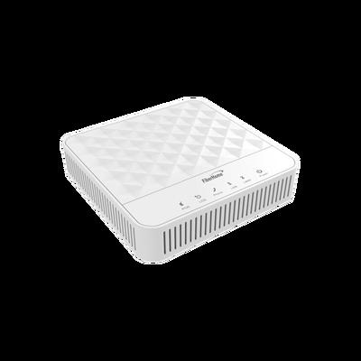 ONU Para Aplicaciones FTTH/GPON, con 1 Puerto Gigabit Ethernet y 1 Puerto Fast Ethernet, conector SC/UPC