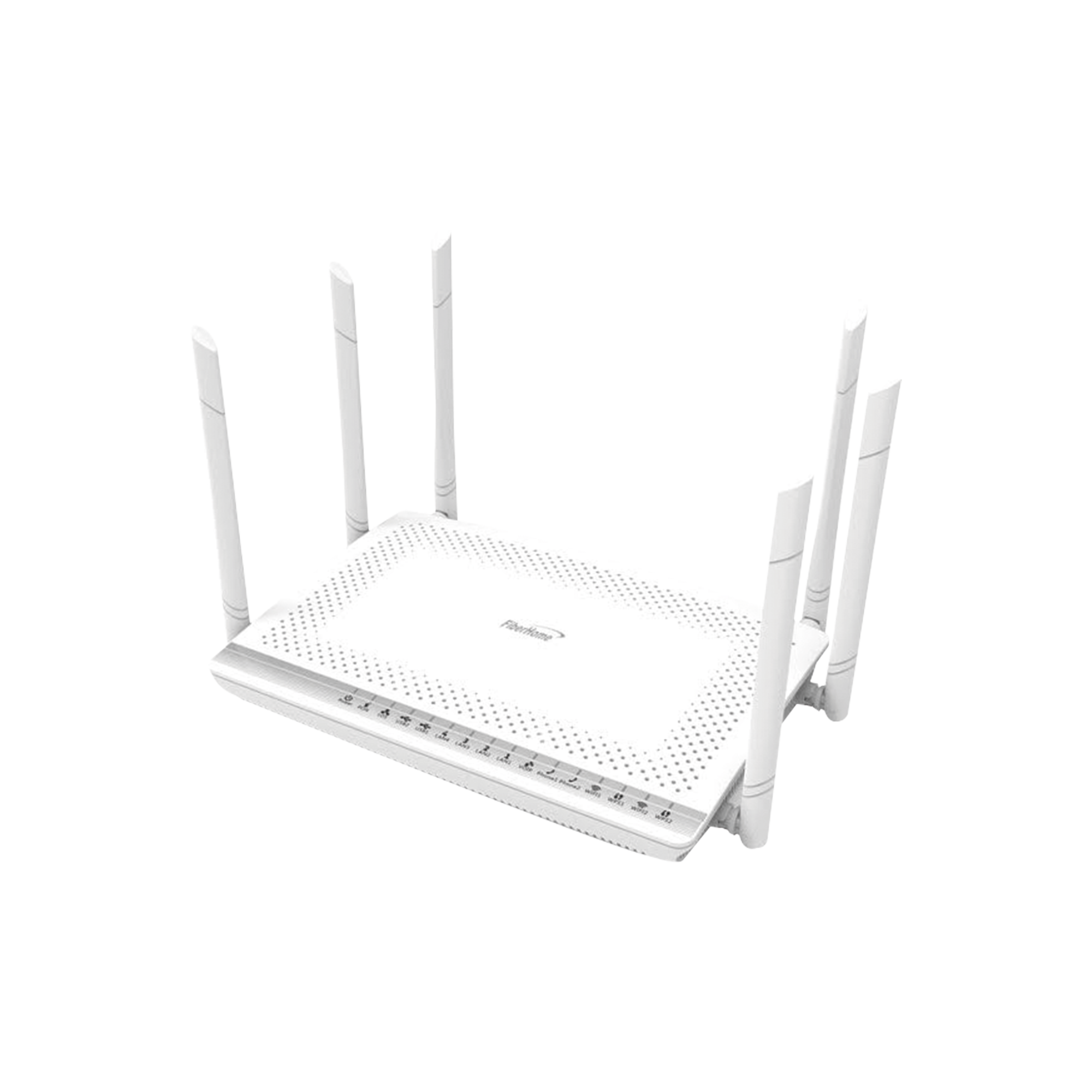ONT Para Aplicaciones FTTH/GPON, con Wifi Doble Banda 2.4/5GHz, Mimo 3X3, 4 Puertos Gigabit Ethernet y 2 Puertos USB 2.0, Acepta Conector de Fibra Óptica SC/APC o SC/UPC