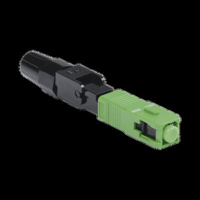Conector Rápido de Instalación en Campo, Monomodo, SC/APC, pre-pulido, re-terminable, ideal para Aplicaciones FTTx
