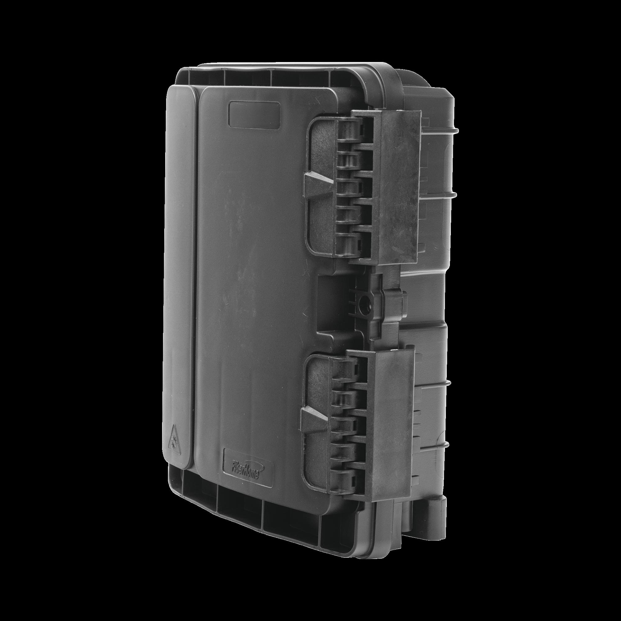 Cierre de Empalme para 20 fusiones de fibra óptica, Exterior, 8 acopladores SC/APC, incluye splitter 1x8, IP65