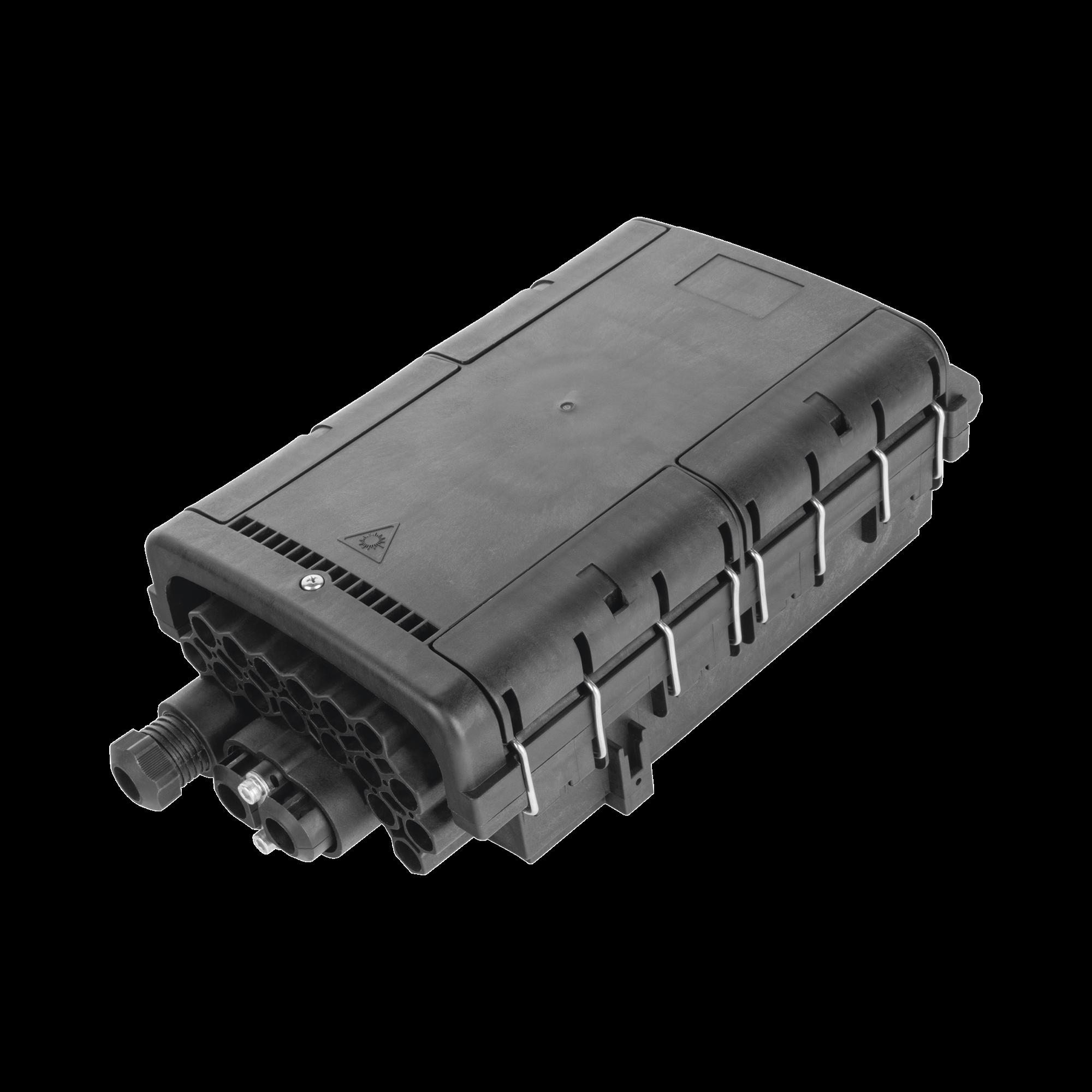 Caja de Distribución de Fibra óptica para 48 empalmes con 16 acopladores SC/APC, enterrado directo, IP68