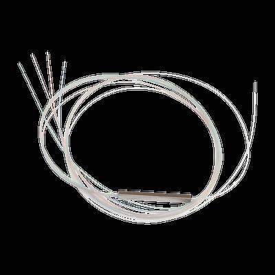 Splitter (Divisor Óptico) tipo PLC, de 1x4, para fusión (sin conectores)