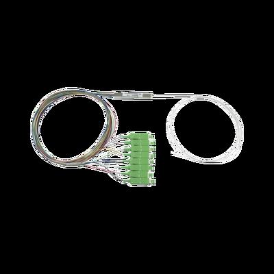 Splitter (Divisor Óptico) tipo PLC, de 1x8, conectores SC/APC de salida
