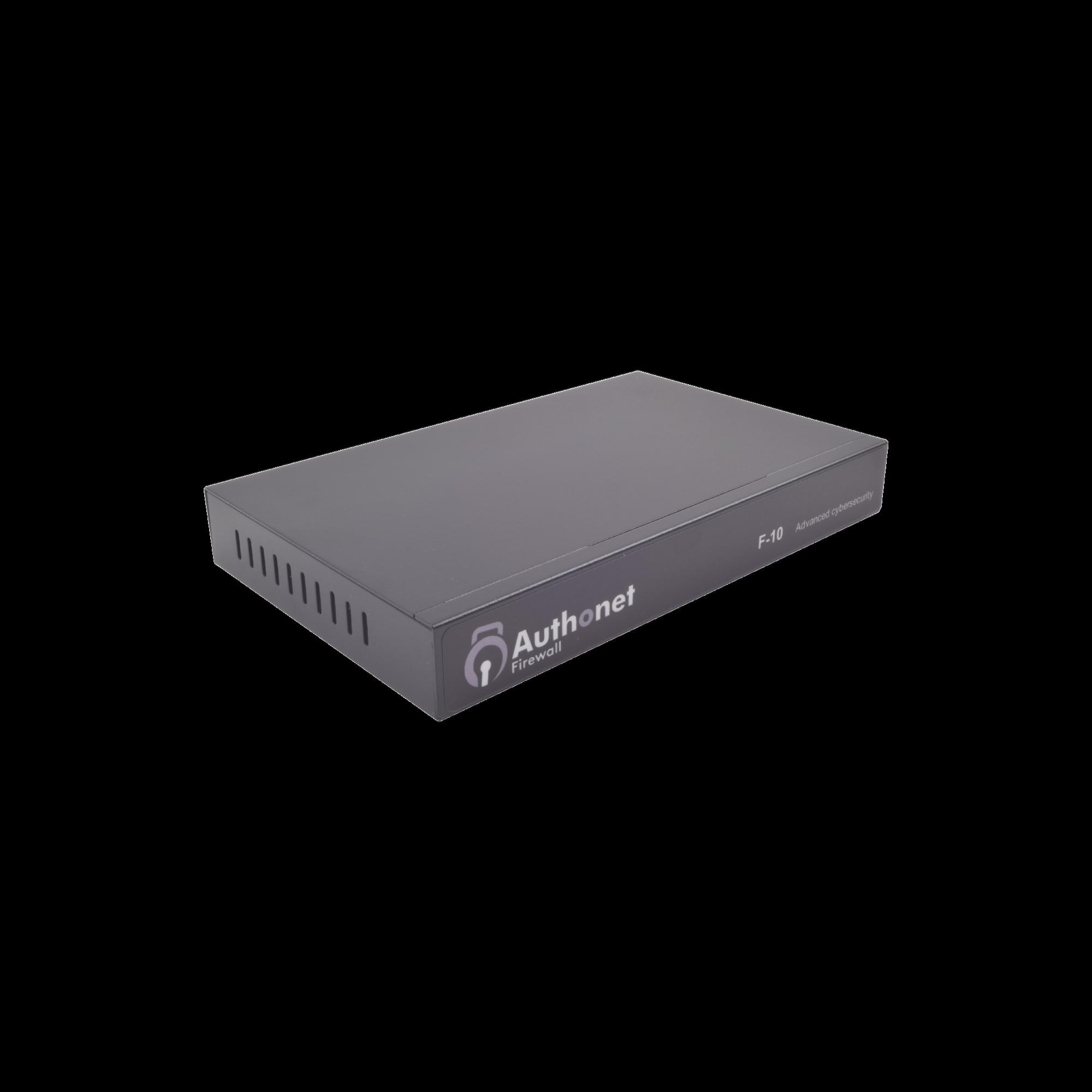 Firewall Authonet (Protección de Intrusos, Ransomware, Red Interna y WAN) Filtro de Contenidos Avanzado, Bloqueo de puertos e IP, 4 Puertos LAN