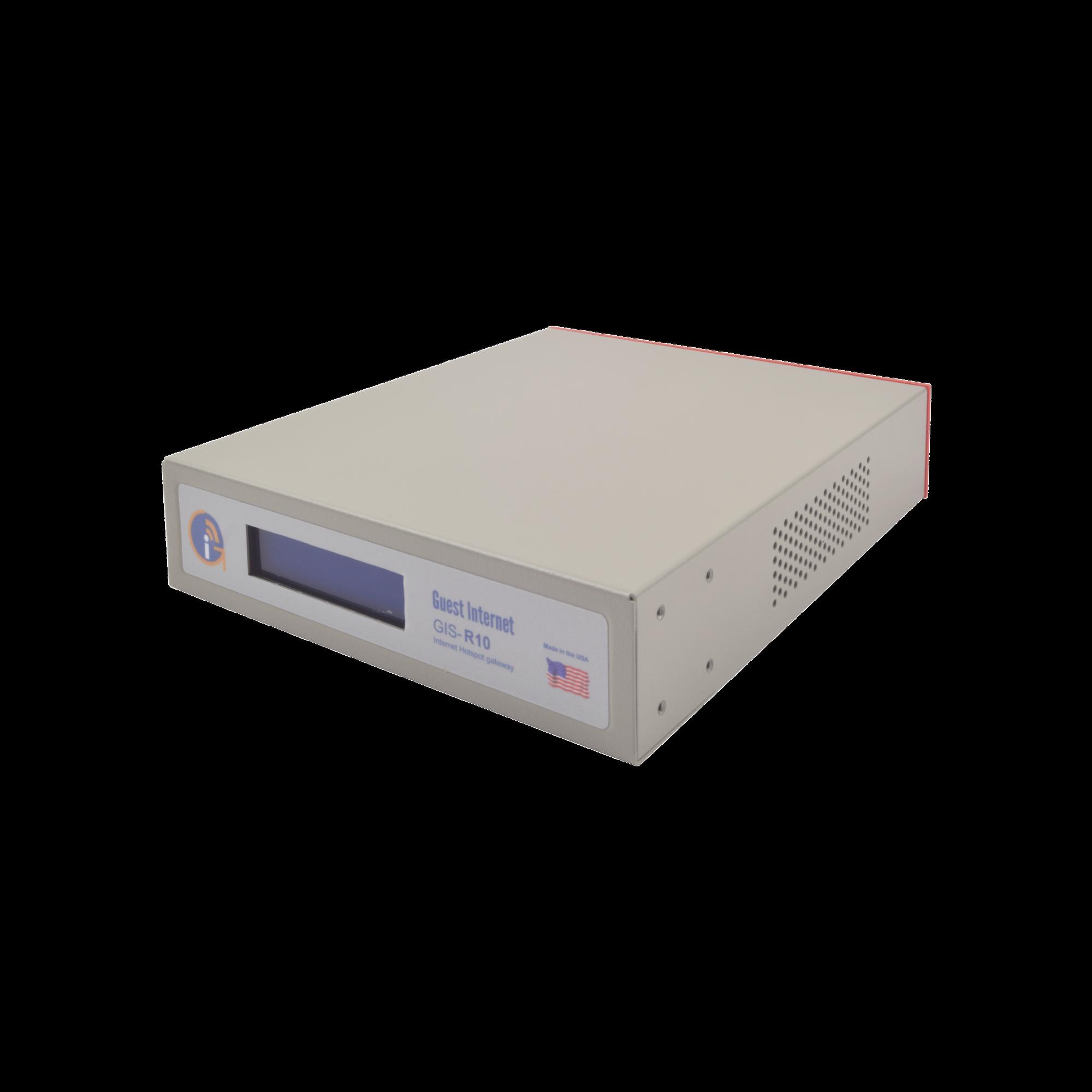 Hotspot con capacidad de hasta 250 usuarios concurrentes, un Throughput de 100 Mbps y configuración sencilla y rápida
