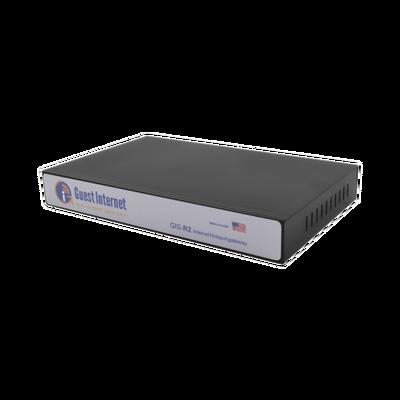 Hotspot para la venta de códigos de Internet, configuración mediante WIZARD, 1 puerto WAN, 4 puertos LAN, Throughput 100 Mbps