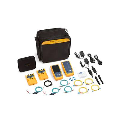 Certificador CertiFiber® Pro Quad, para Fibra Óptica Multimodo 50µm y Monomodo, Con WiFi Integrado y Pantalla LCD de 5.7 in, Versión Internacional