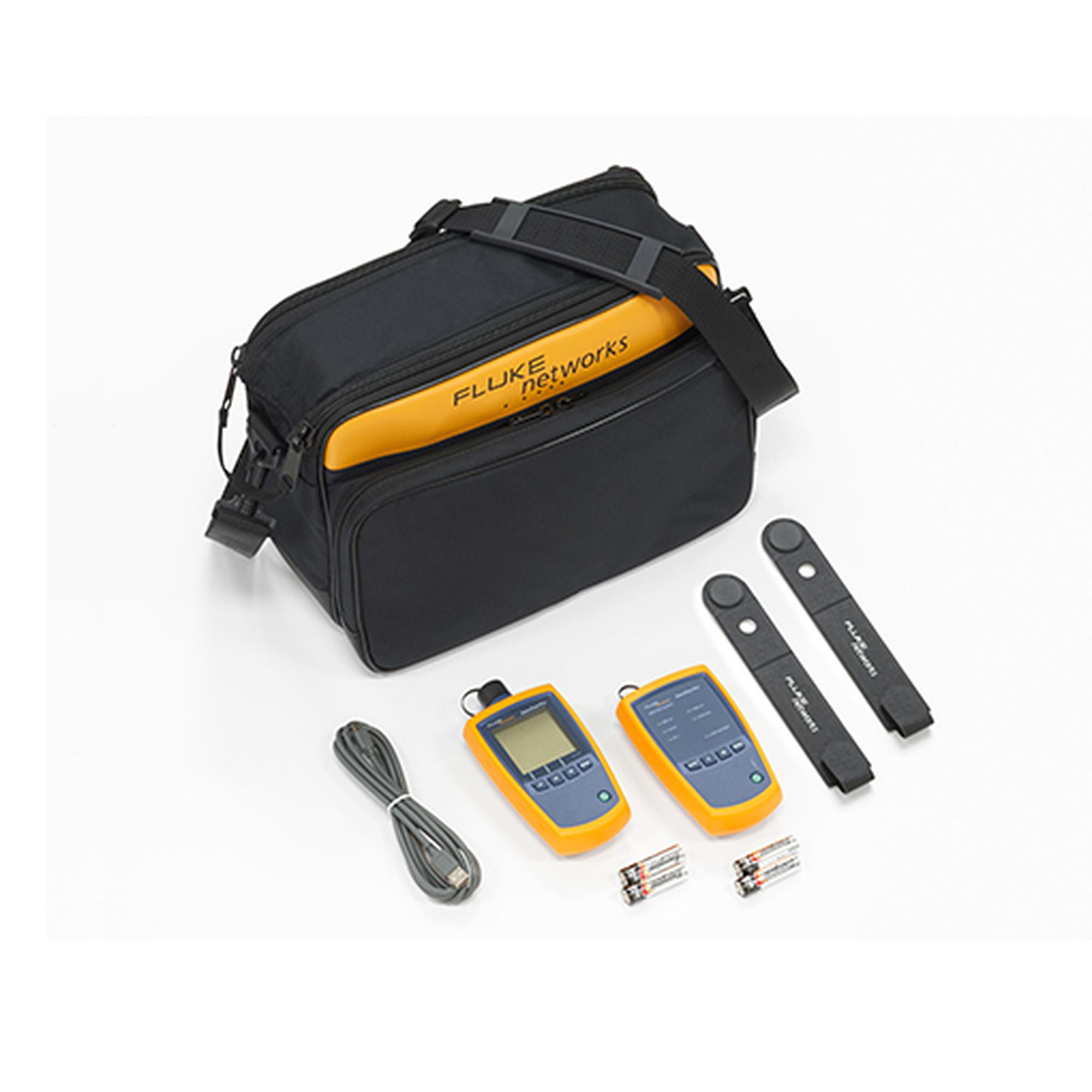 Kit de Verificación SimpliFiber? para Fibra óptica Multimodo, con Fuente de 850/1300nm y Medidor de Potencia
