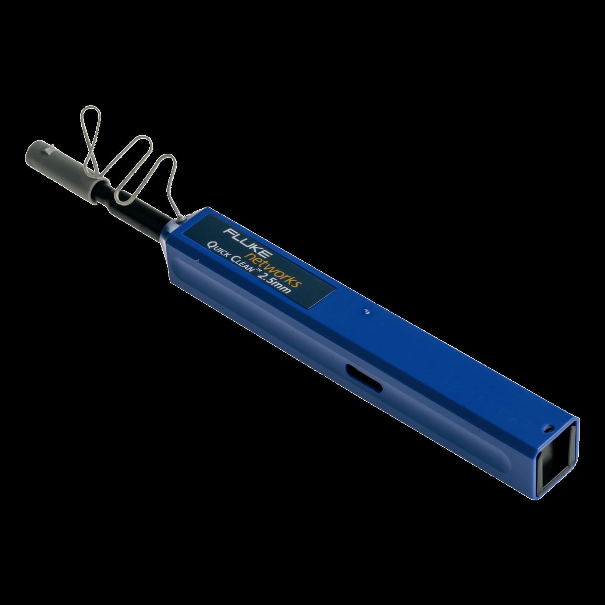 Limpiador Quick Clean? de 2.5mm, para Conectores SC, ST, FC Y E2000 de Fibra óptica, 2500 Procesos de Limpieza