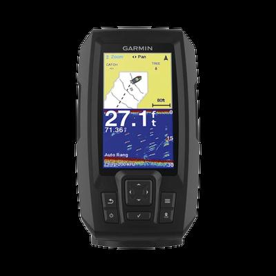 """Ecosonda STRIKER™ Plus 4cv con pantalla de 4.3"""" y transductor de doble haz"""