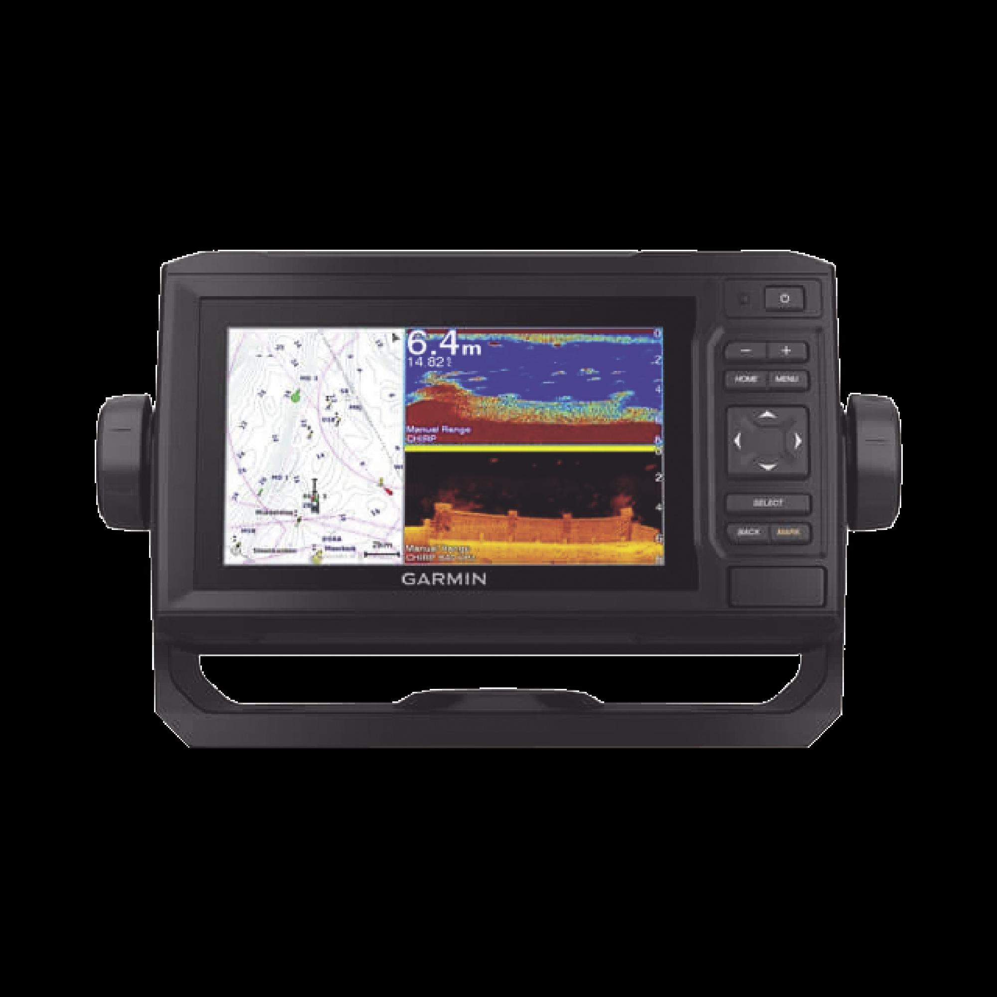 EchoMAP UHD 62cv, ecosonda de navegación, con mapa base precargado, sonda CLEARV? Y CHIRP tradicional. no incluye transductor