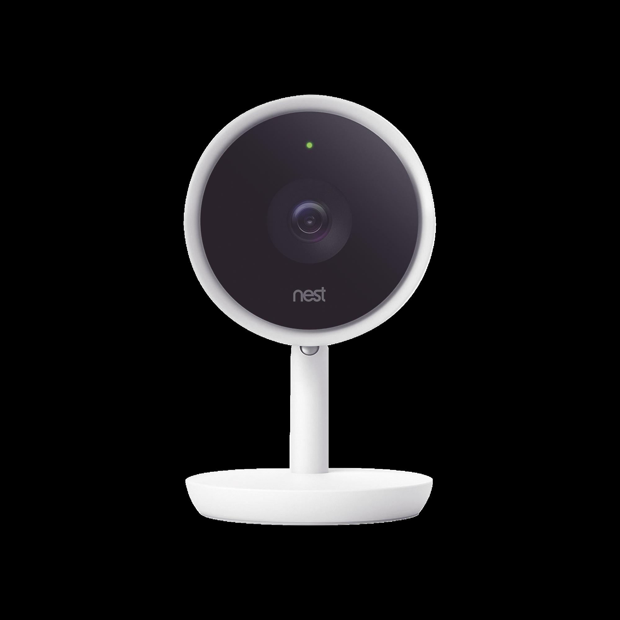 Google Nest / Nest Cam Cámara para interiores IQ -  Cuenta con asistente de Google integrado
