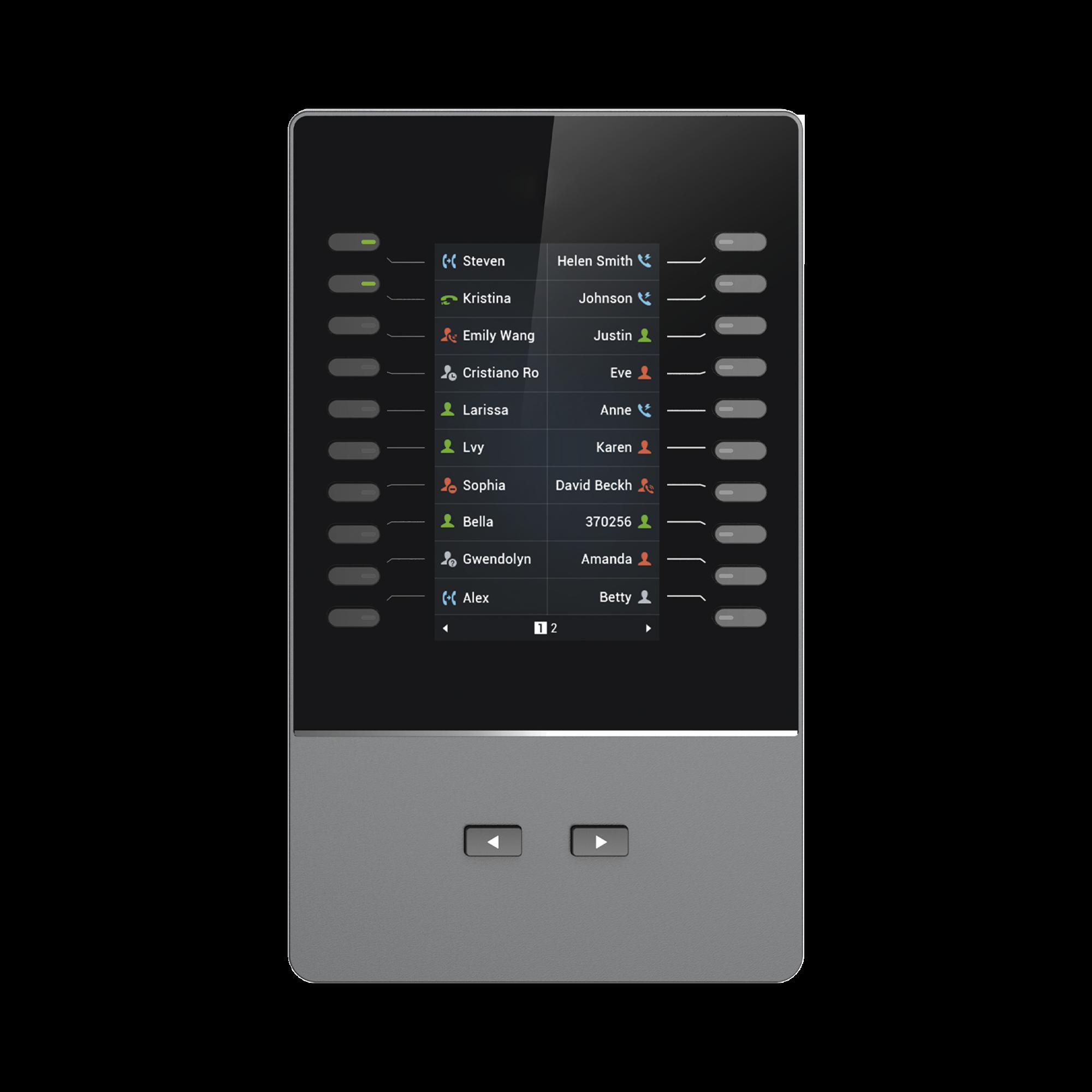 Modulo de extension para modelos GRP2615, GXV3350 de Grandstream.