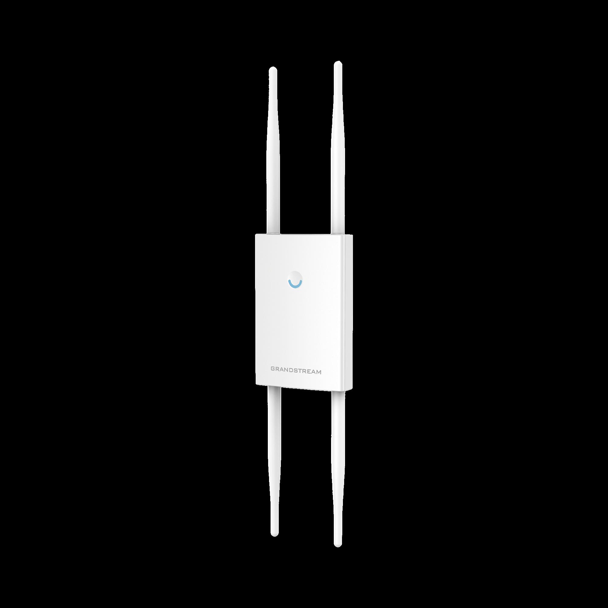 Potente Punto de Acceso Wi-Fi MU-MIMO 4?4:4 para exterior de largo alcance, stand-alone o configuración desde la nube
