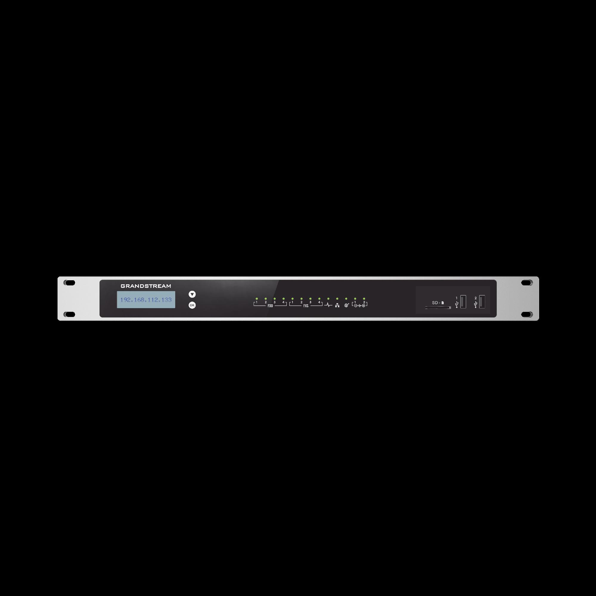 Conmutador 2000 usuarios, 4FXO, 4FXS,  para solucion de comunicaciones unificadas y colaboracion