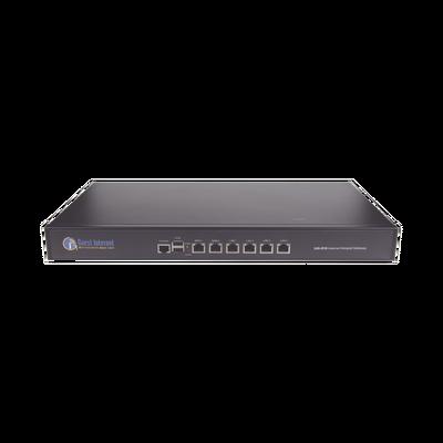 Hotspot para la venta de códigos de Internet, Throughput 400 Mbps, balanceo de carga, configuración mediante WIZARD, Multi-WAN