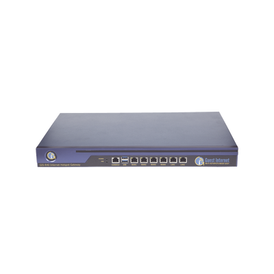Hotspot para la venta de códigos de Internet, Throughput 1000 Mbps, balanceo de carga, configuración mediante WIZARD, Multi-WAN
