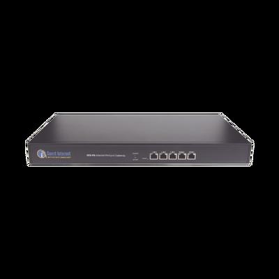 Hotspot para la venta de códigos de Internet, Throughput 200 Mbps, Multi-WAN, balanceo de carga, configuración mediante WIZARD