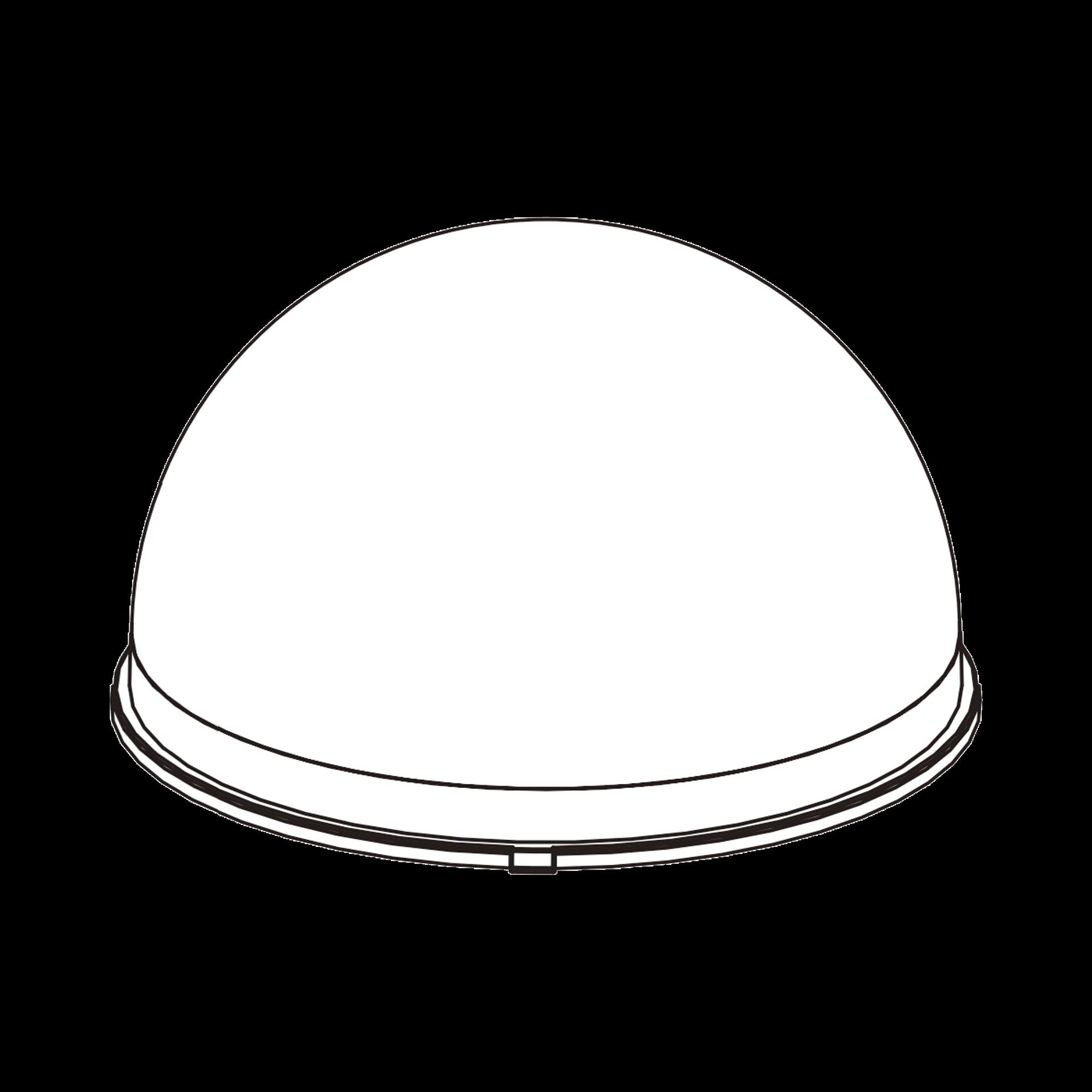 Cubierta frontal para cámara IP tipo Domo