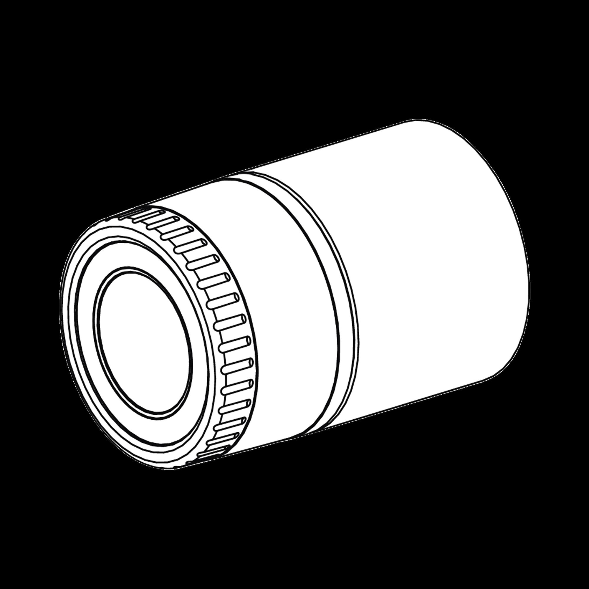 Cubierta frontal para camaras tipo IP bala Wisenet