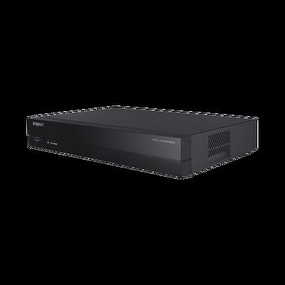DVR 4 Canales Analógicos + 2 IP hasta 8MP / Soporta 4 Tecnologías (AHD, TVI, CVI, CVBS) / 1 Entrada y Salida de Audio / 4 Entradas y 1 Salida de Alarma