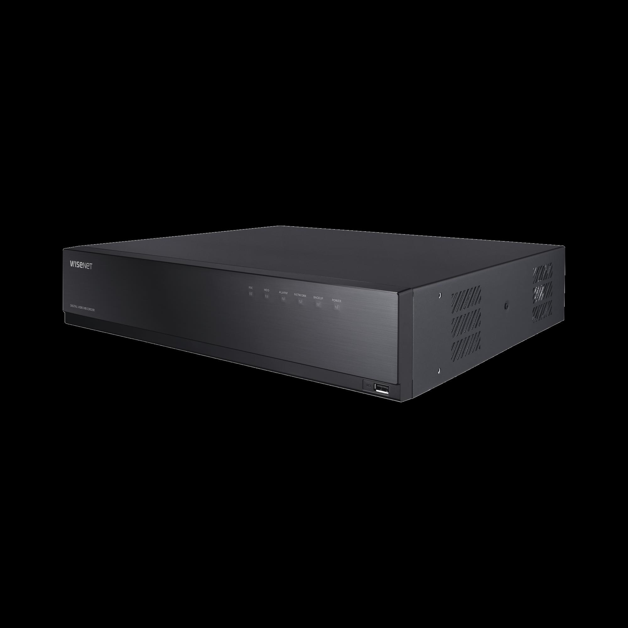DVR 8 Canales Analógicos + 2 IP / hasta 8 MP / Soporta 4 Tecnologías (AHD, TVI, CVI, CVBS) / Hasta 4HDDs / Entradas y Salidas de Audio y Alarma