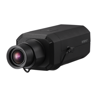 Camara Profesional 4K con IA  / P-Iris / WDR 120dB / H.265 / Ranura SD / WiseStream II