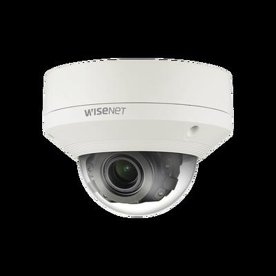 Cámara IP Domo Exterior Andtivandálica 12 MP 4K / Lente Motorizado 4.5-10 mm / H.265 & WiseStream / Video Analíticos