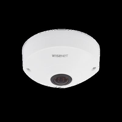 Camara IP Fish Eye Interior 6 Megapixel / WDR 120dB / PTZ Digital 8X / Video Analíticos / MicroSD / H.265