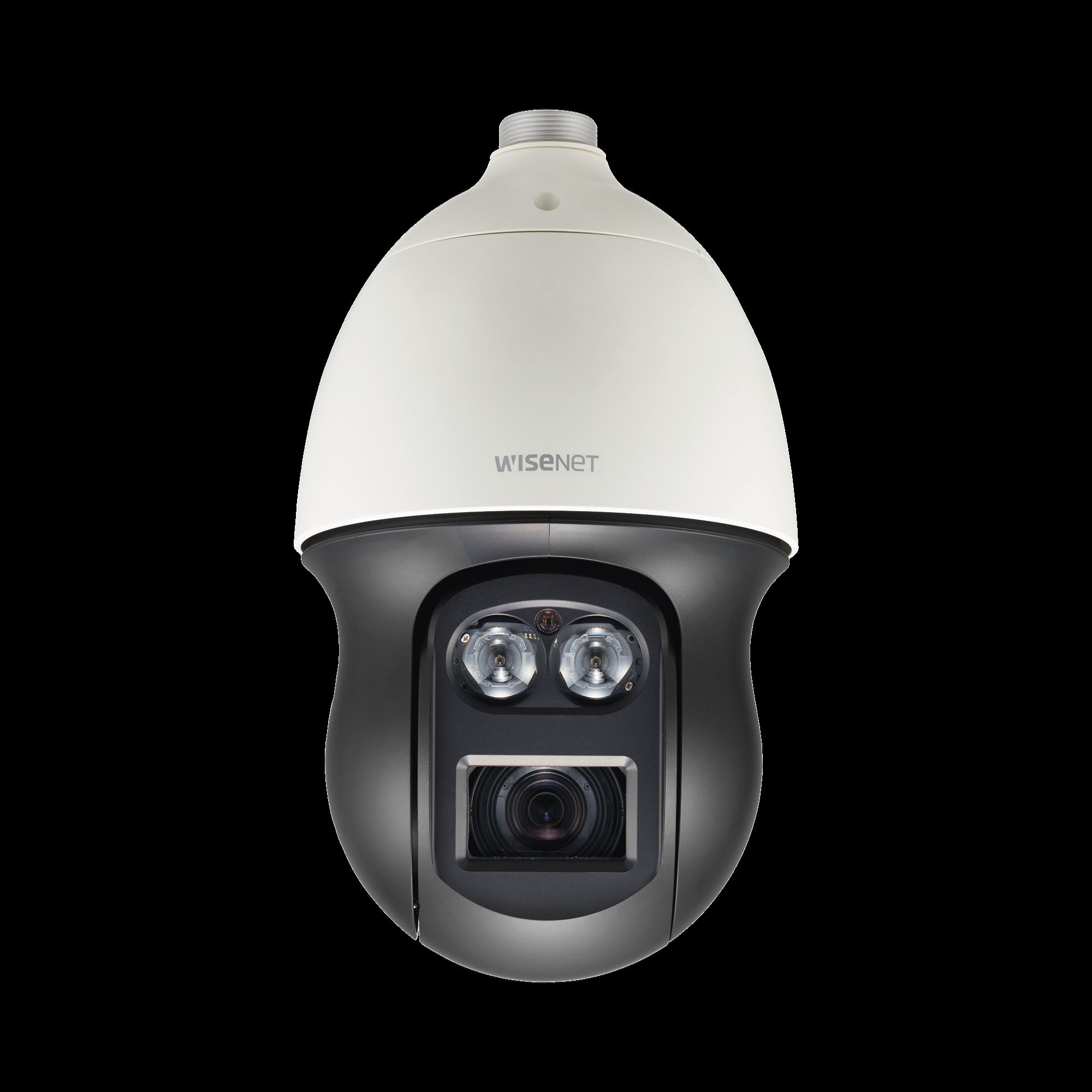 Domo IP PTZ Antivandálico 2MP / Zoom óptico 23X / H.265 & WiseStream  / WDR 120DB / IP66