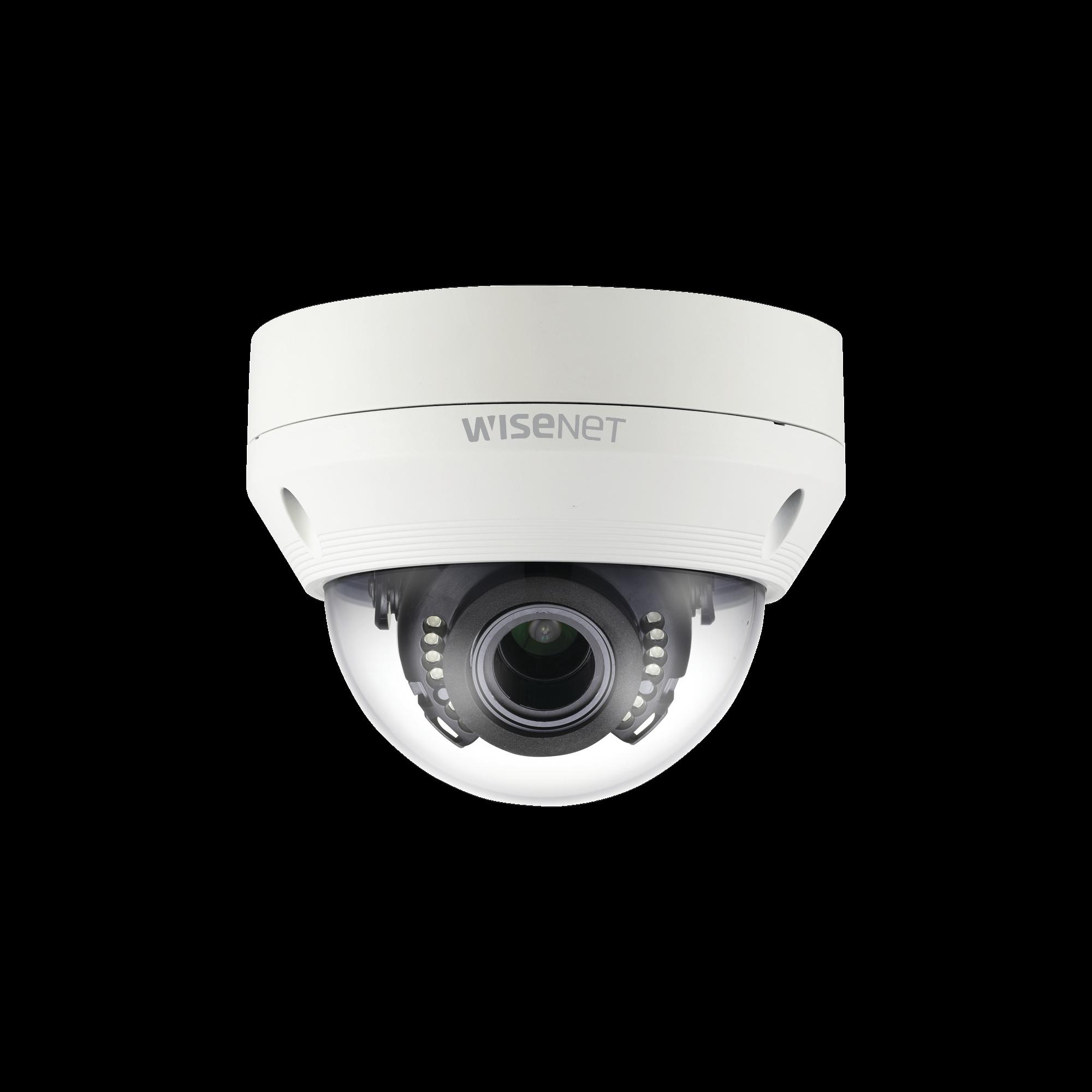 Cámara Domo AHD Híbrida Antivandálica 1080p / Lente Varifocal 2.8 - 12mm / IR 30M / dWDR / IP66