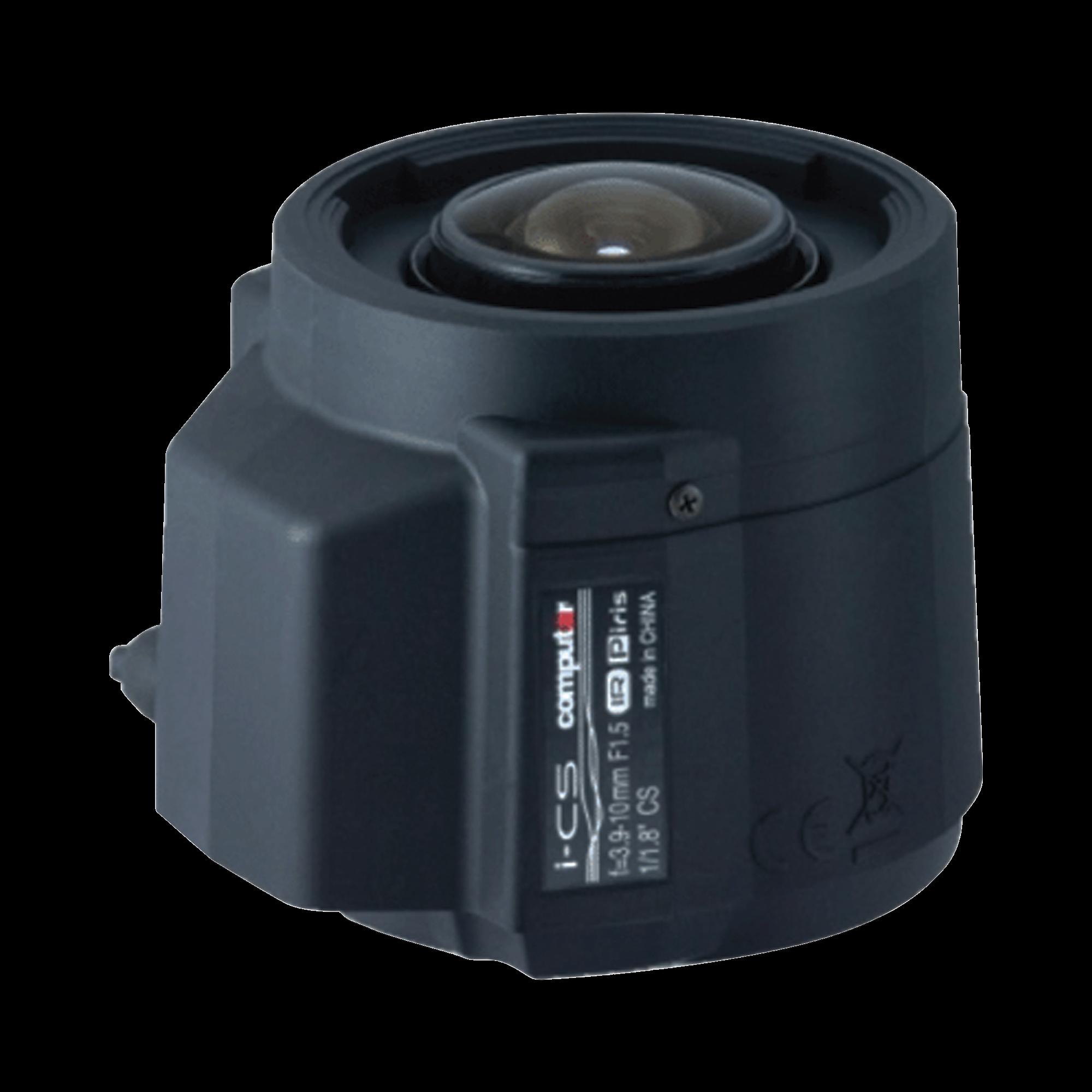 Lente Valifocal 3.9 - 10mm, 12MP, P-iris, Formato de 1/1.8, para cámara PNB-A9001