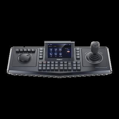 """Controlador de domos PTZ y Camaras IP Wisenet, con pantalla LCD touch screen de 5"""""""