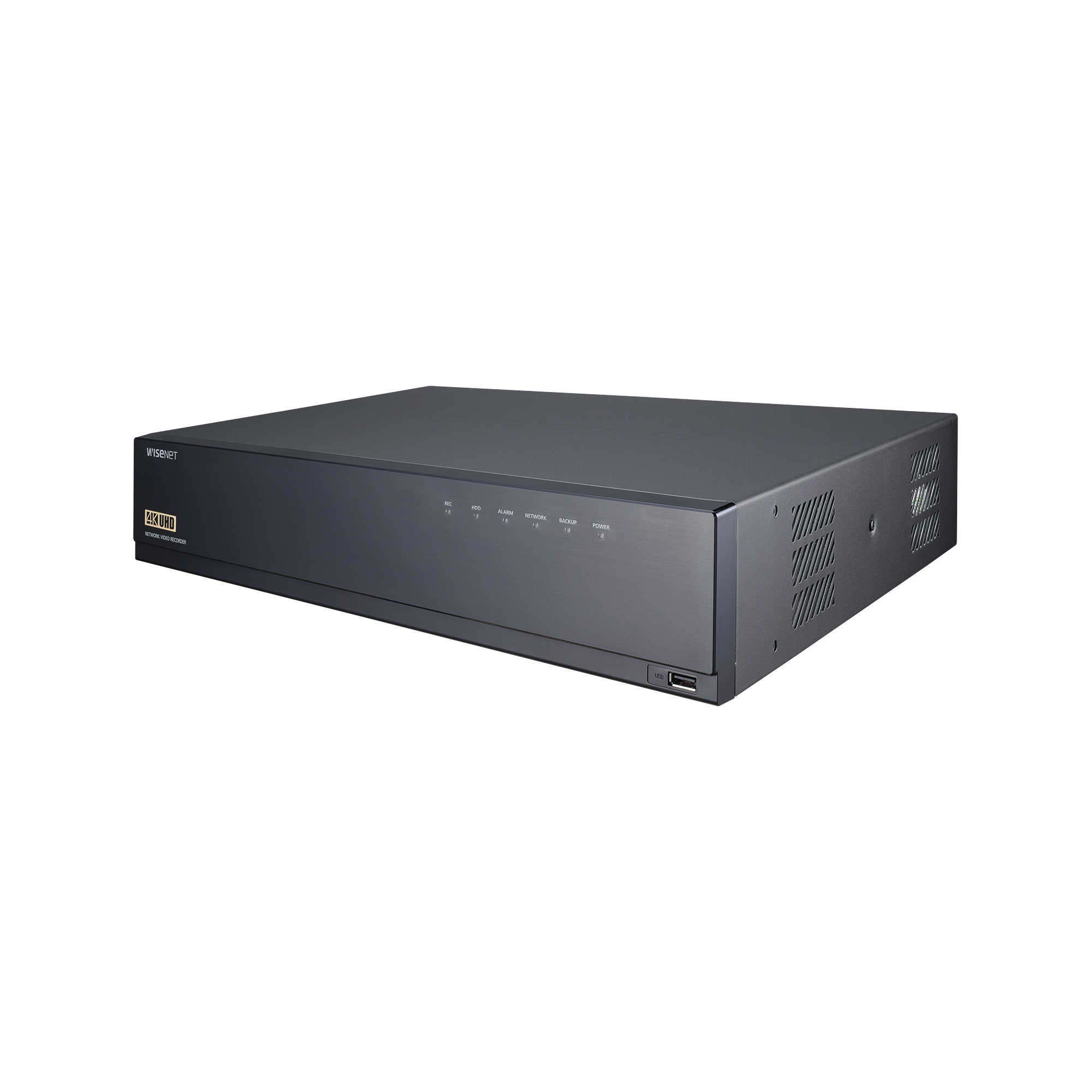 NVR 16CH de Hasta 12MP, Compatible con los códecs H.265, H.264 y MJPEG, Salida de Video 4K, Soporta P2P