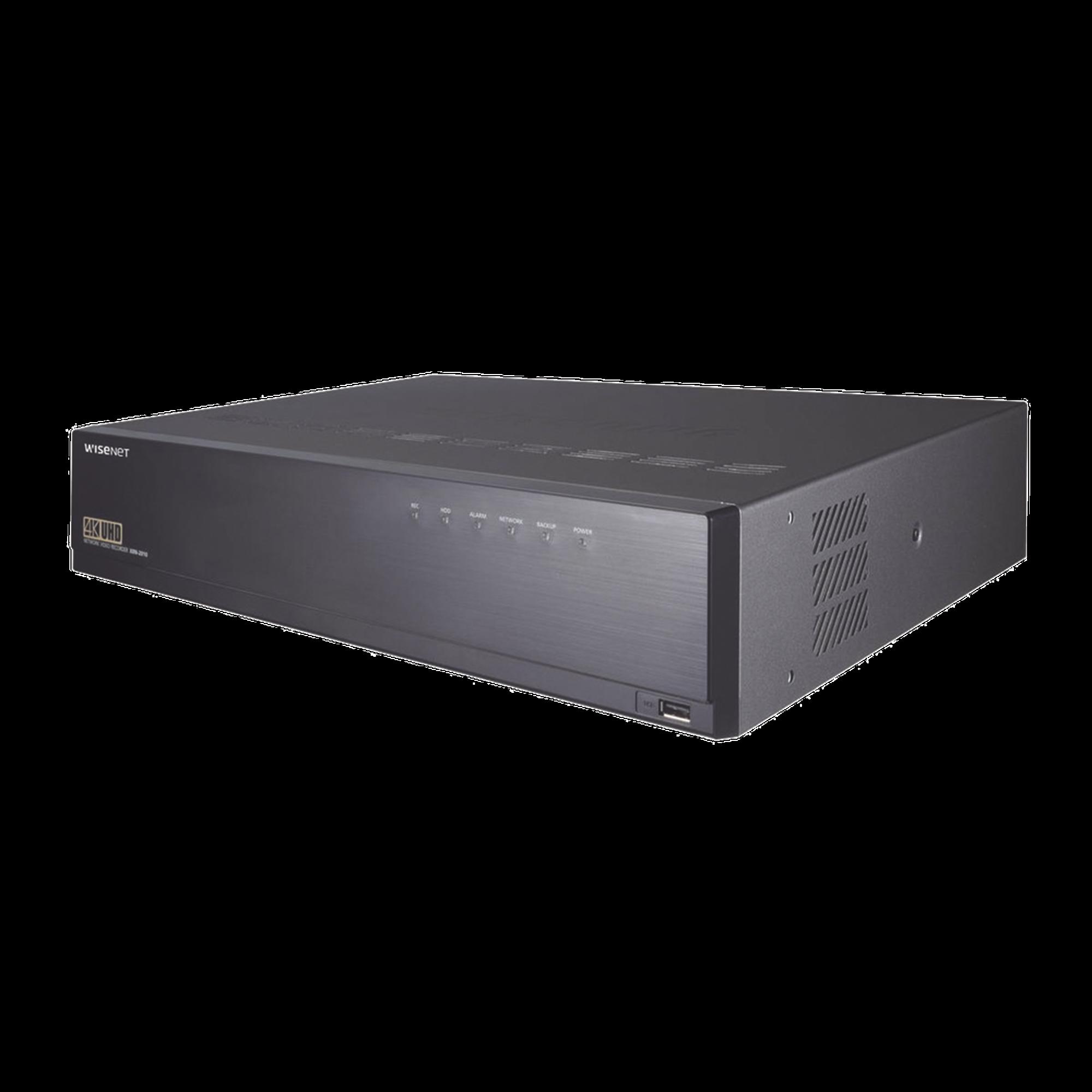 NVR de 32 Canales, Soporta Compresión H.265, H.264 y MJPEG, Compatible con RAID 5