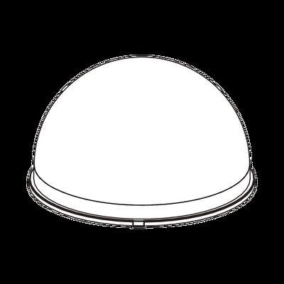 Burbuja Cristalina para Cámara Domo Wisenet