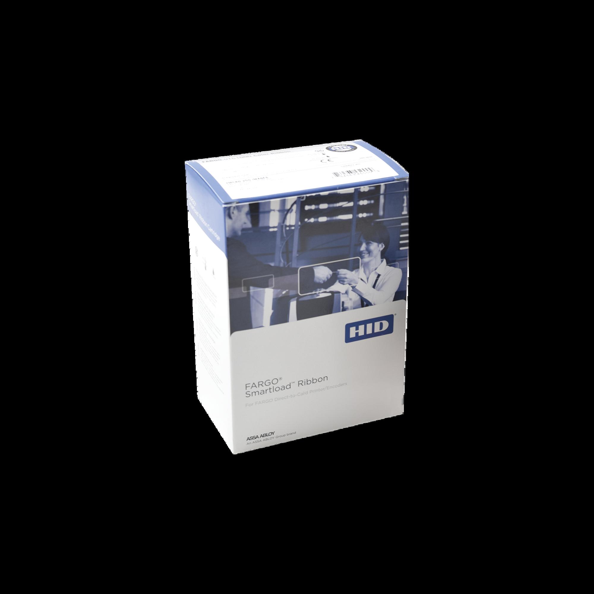 Cartucho con Ribbon de Medio panel full color / 350 impresiones / Para DTC1250, DTC1000 y C50.