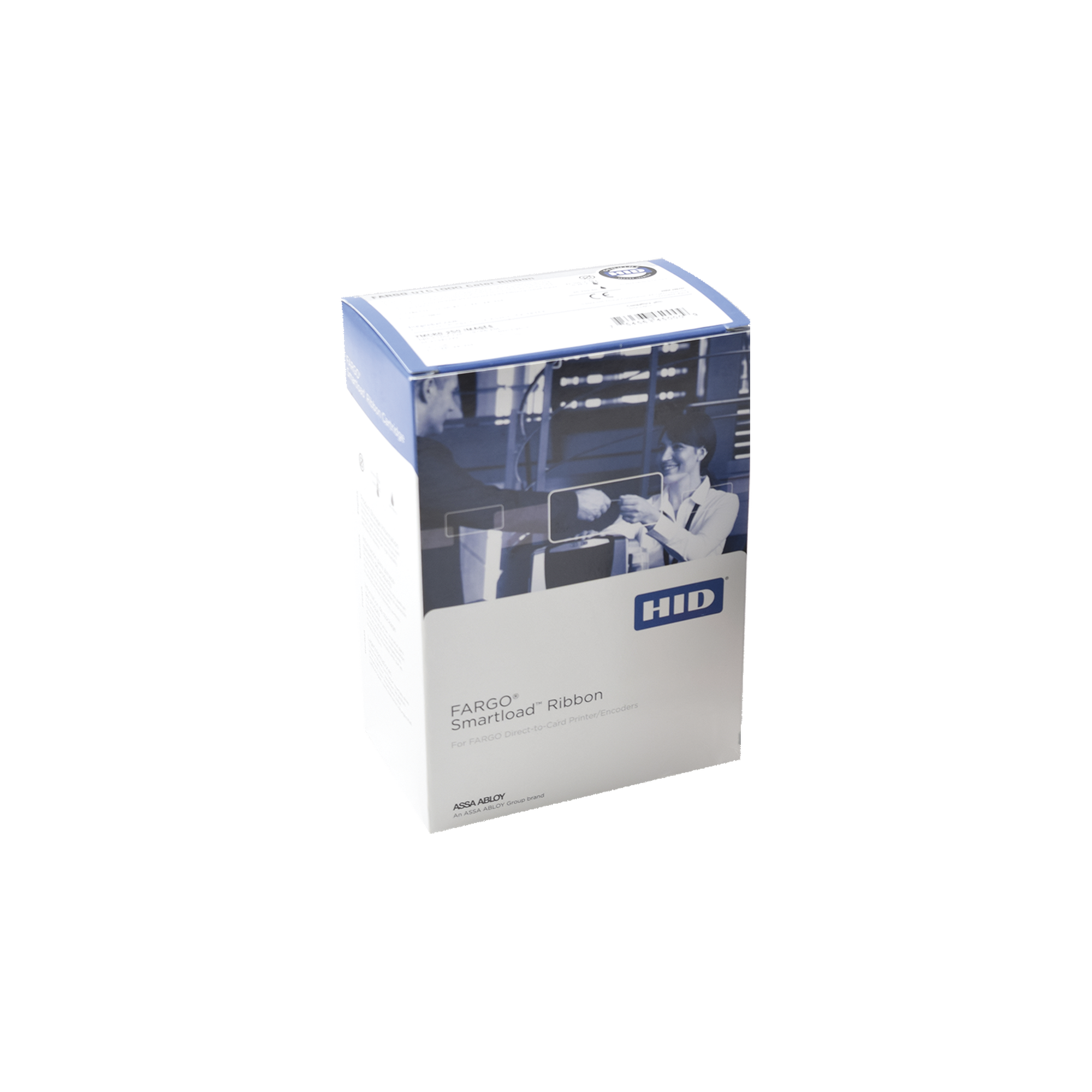 Ribbon YMCKK Full color con 2 paneles de resina negro / Para DTC4500, DTC4500e / de 500 impresiones
