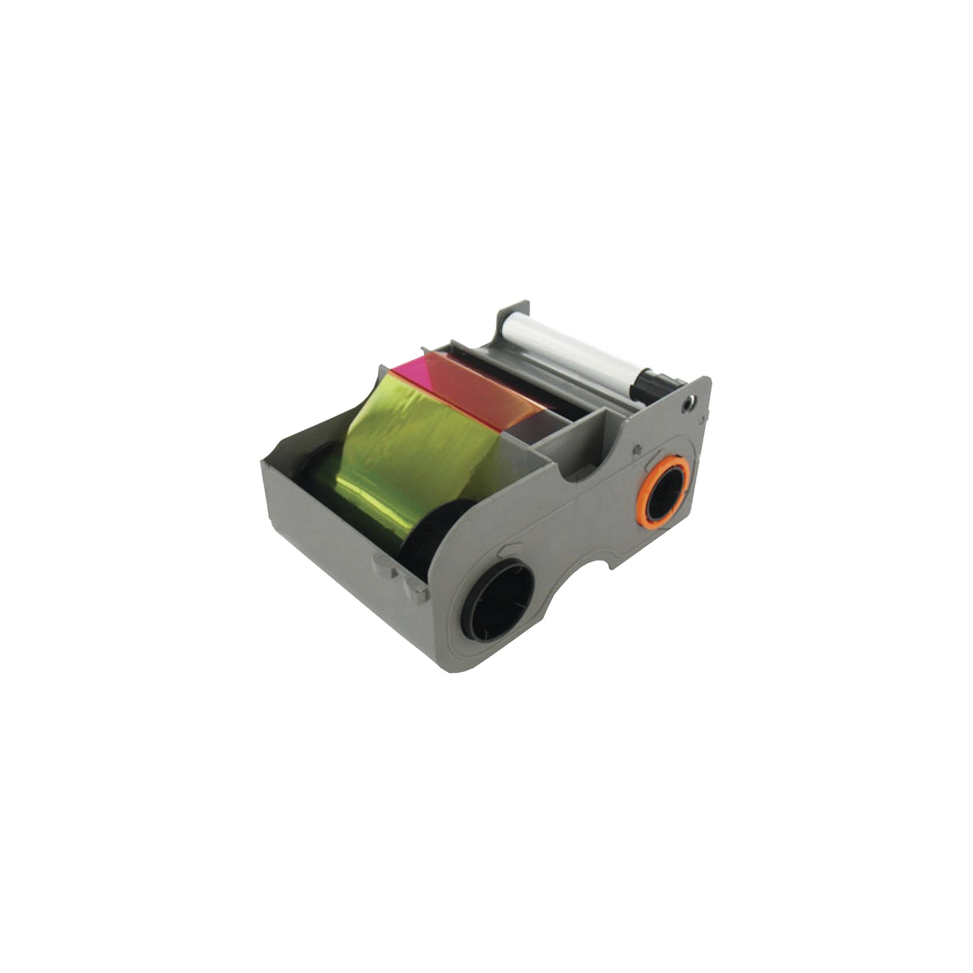 Cartucho con Ribbon  YMCKOK full color con dos resinas en negro / Para DTC1250e y DTC1000 / 200 impresiones.