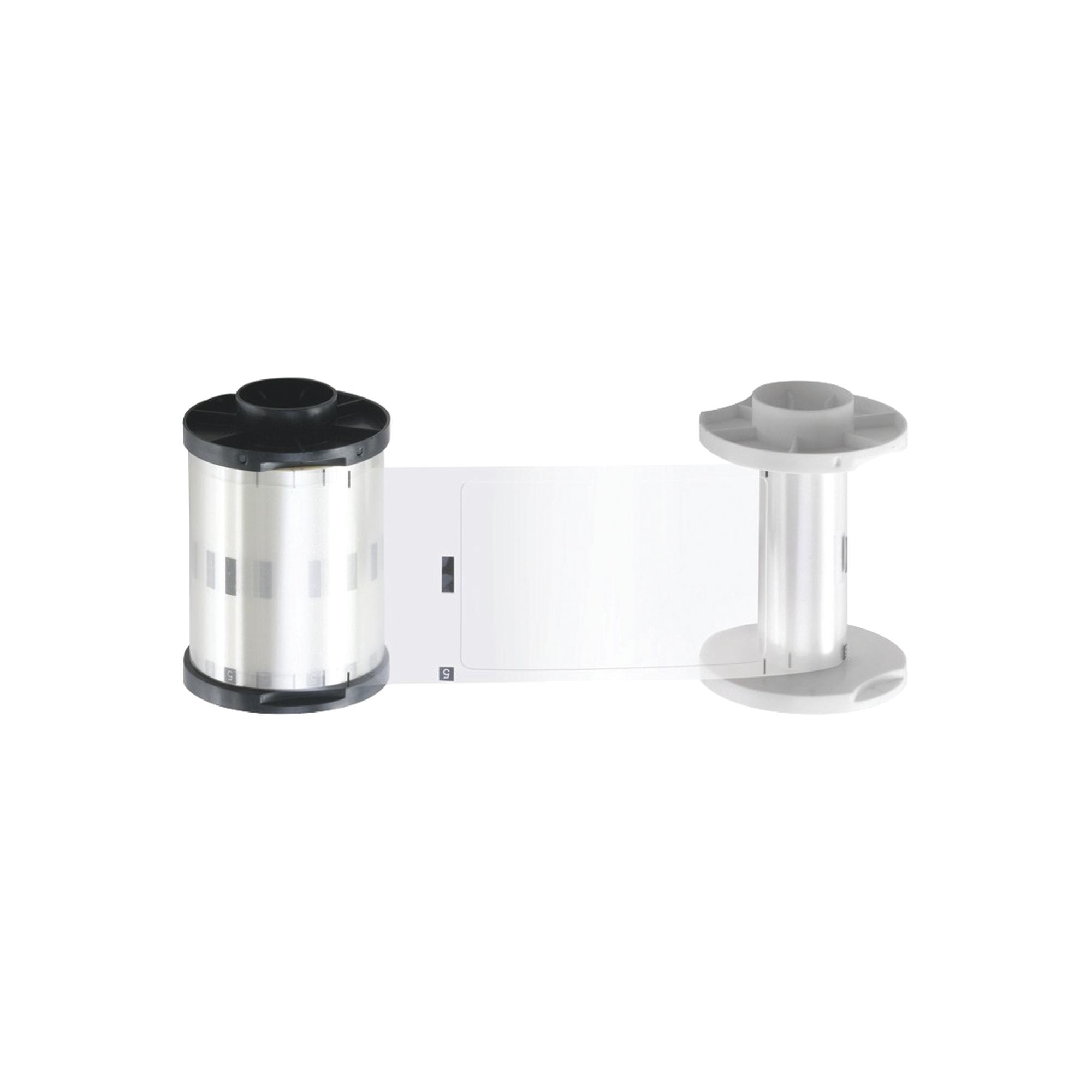 Cinta de laminación TRANSPARENTE 1.0 mil para HDP5000 con laminación / Capacidad de 250 laminados por un solo lado.
